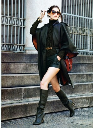 Tommy Ton for Vogue Nippon October 2010