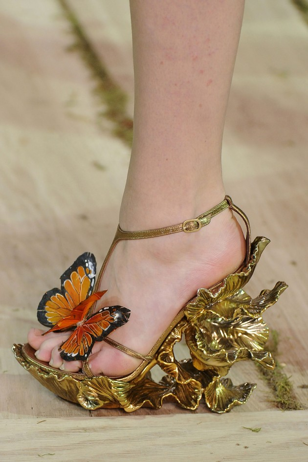 Alexander McQueen Spring/Summer 2011 shoes