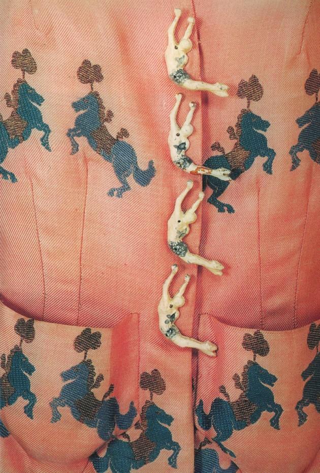 Elsa Schiaparelli ornamented buttons