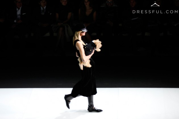 Emporio Armani Fall/Winter 2011/2012 show