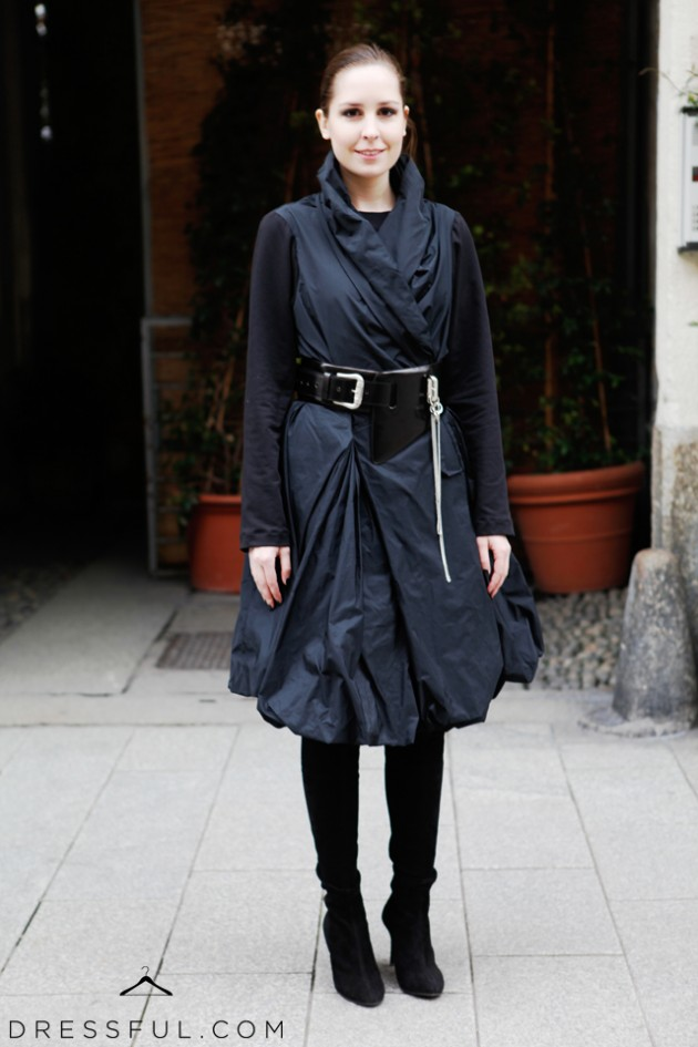 Me at Corso Como 10 after Emporio Armani Fall/Winter 2011/2012 show