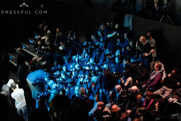 Emporio Armani Fall/Winter 2011/2012 show - photographers