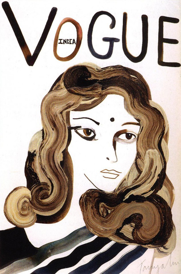 Vogue India cover by Tanya Bipasha Ling