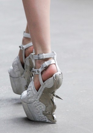 Alexander McQueen Fall/Winter 2011/12 shoes