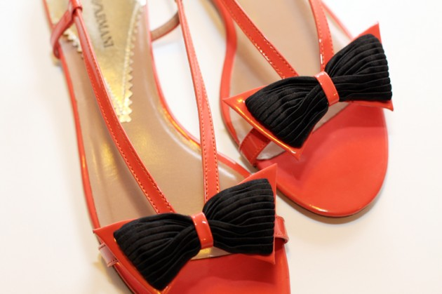 Emporio Armani Spring/Summer 2011 sandals