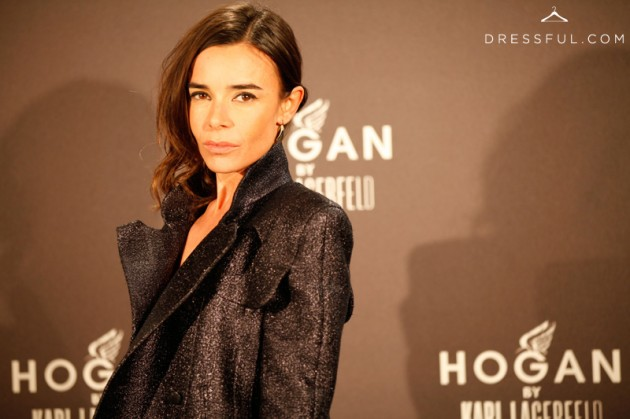 Elodie Bouchez at Hogan by Karl Lagerfeld party in Paris