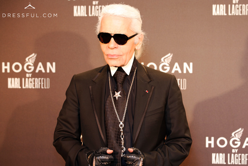 Hogan by Karl Lagerfeld Fall/Winter 2011/12 event in Paris