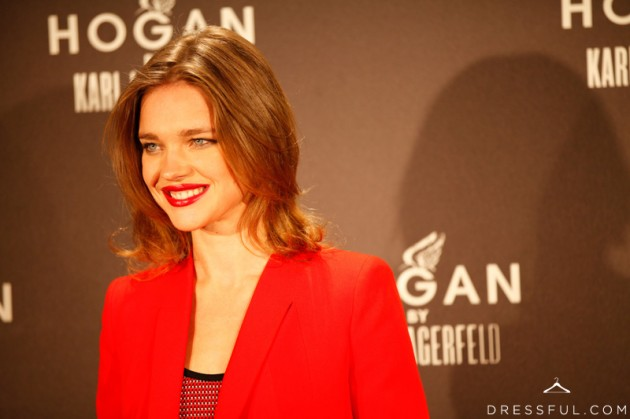 Natalia Vodianova at Hogan by Karl Lagerfeld party in Paris