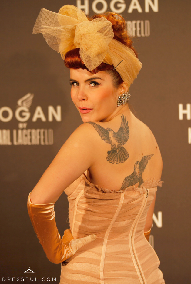 Paloma Faith at Hogan by Karl Lagerfeld party in Paris