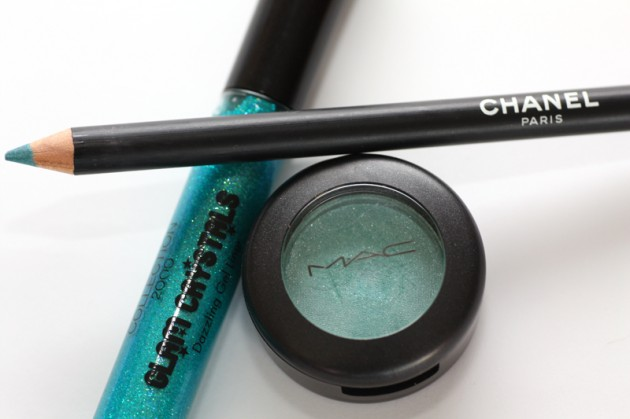 MAC Aquadisiac, Chanel, Collection 2000 Glam Crystals gel liner