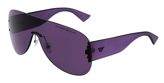 Emporio Armani 30th anniversary men's sunglasses