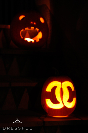 Chanel Halloween pumpkin
