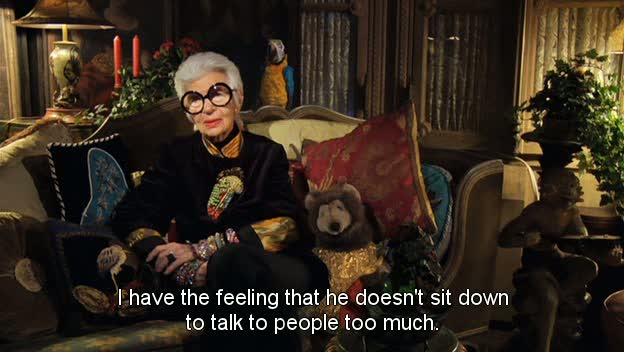 Bill Cunningham New York - Iris Apfel