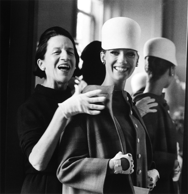Diana Vreeland with model Marisa Berenson. Photo by James Karales