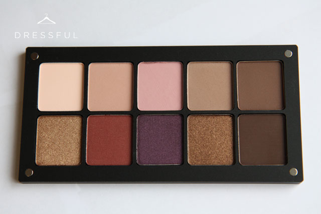 My own Inglot Freedom System eyeshadow palette