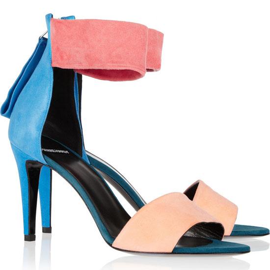 Pierre Hardy Colour block sandals 8iWLZl