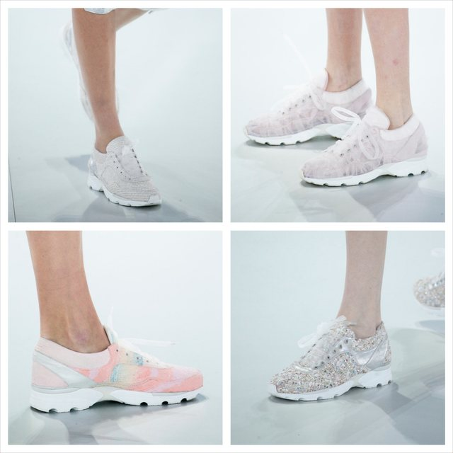 In defense of Chanel's haute couture running shoes