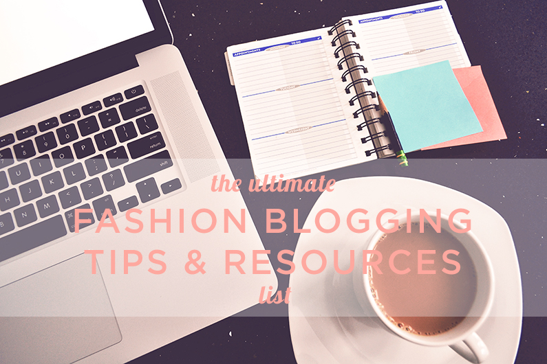 Fashion blogging tips
