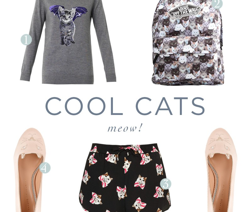 Shopping guide: Cool cats