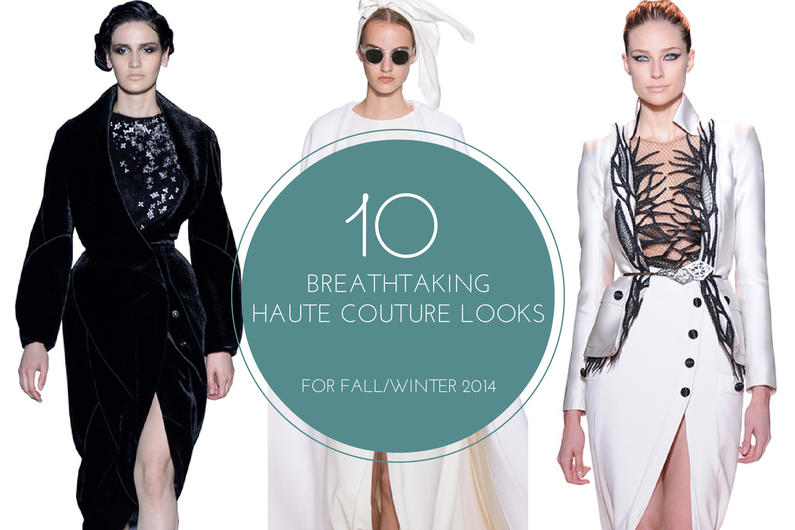 10 breathtaking haute couture looks for Fall 2014