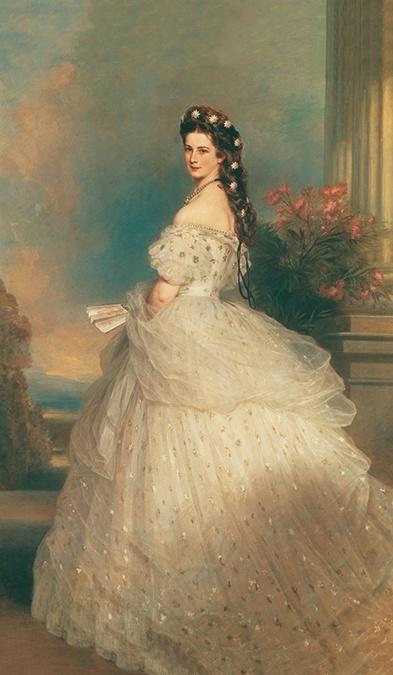 empress elisabeth of austria winterhalter