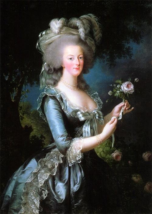 Portrait of Marie Antoinette, 1783, by Louise Élisabeth Vigée Le Brun